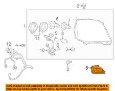 GMC GM OEM 10-17 Terrain-Headlamp Assembly Support Bracket Right 84048495