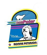 Ronnie Peterson Team Polaire Racing Autocollant très rare