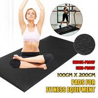EVA Gym Floor Mat Equipment Fitness Exercise Treadmill Bike Go Fit Protect