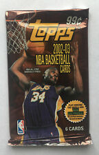 NBA Topps 2002/03 Blaster Pack - Basketball Cards