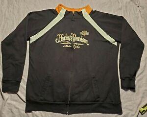 Harley-Davidson Full Zip Up Sweater Sweatshirt Womens XXL