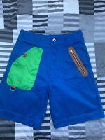 "Love Moschino Mens/Unisex Blue Cotton Shorts Mens UK34, 30"" Waist"