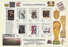PALAU 2001 HISTORY OF THE WORLD CUP SOUVENIR SHEET MNH
