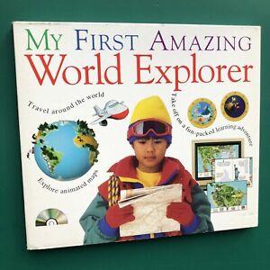 MY FIRST AMAZING WORLD EXPLORER PC Educational CD-RoM Mac PC Dorling Kindersley
