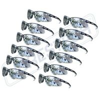 SAFETY GLASSES 352 LENS SPORT WORK EYEWEAR (12 PAIR) Z87.1 New