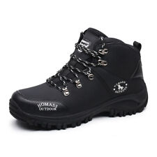 MENS ANKLE BOOTS WATERPROOF HIKING  SPORTS ATHLETIC  WALKING SHOES