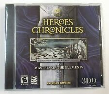 """BRAND NEW"" Heroes Chronicles - Masters of the Elements PC CD-ROM 3DO"