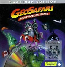 GeoSafari Multimedia  00001319 Game Platinum Mac Cd learn history geography science quiz