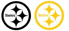 Steelers Logo Decal Sticker set of 2