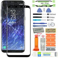 Para Samsung Galaxy S8 Plus Delantero Lente de Cristal Reemplazo de la Pantalla