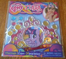 * L@@K - NEW My Little Pony Tiara Princess Crown w/Jewel Stickers to Decorate *