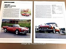 Triumph Spitfire Original Car Review Print Article J671 1963 1964 1965 1966 1967