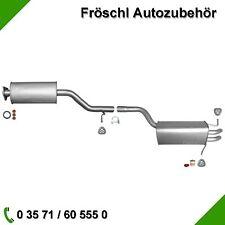 Mercedes C-Klasse W203 T203 1.8 2.0 C180 C200 C230 Auspuffanlage Auspuff Anbaus.