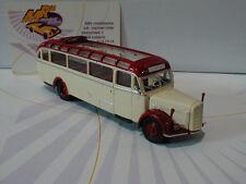 """Brekina Starline 58076 # Saurer BT 4500 offen Baujahr 1949 """" cremweiß-rot """" 1:87"""