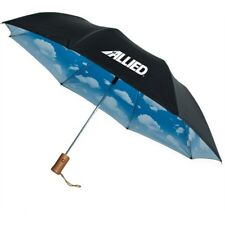 25 Custom Printed Umbrellas, Bulk Promotional Product, Personalized