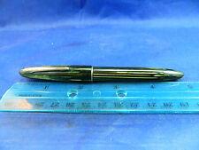 Sheaffer #350 Craftsman Style Pen - Green/Black Pearl Stripe -Vac-Fill - #33 Nib