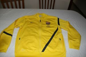 Upper Tracksuit of The F.C Barcelona Brand Nike Size L Of Boy 12-13 Yrs