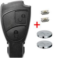 Repair Set Schlüssel Gehäuse MERCEDES BENZ Fernbedienung Mikrotaster Batterie 2T