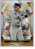 Cody Bellinger 2019 Topps Triple Threads 5x7 Gold #17 /10 Dodgers