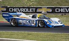 1984 Porsche 956 Group C Sports Prototype Vintage Classic Race Car Photo CA-1083