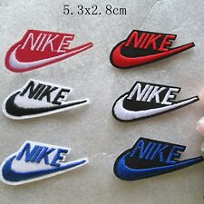 Lots 6PCS PACK NIKE SPORTS DIY LOGO IRON ON SEWING PATCHES JEAN EMBROIDERY BADGE