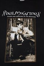 PAUL McCARTNEY 'CHAOS AND CREATION' VINTAGE CONCERT T-SHIRT * BLACK * UNISEX L