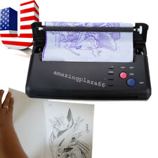 Tattoo Stencil Maker Transfer Machine Flash Thermal Copier Printer Supplies UPS