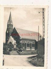 Photo, Regard sur une église dans Abbeville en France 1940 (N) 1854