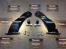 Land Rover Discovery 1 & 2 52'' Curved Flat Led Light Bar Brackets Fit Gutters,