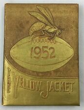 Yearbook Annual 1952 Stephenville High School Texas Yellow Jacket
