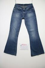 Levis 544 flare bootcut (Cod.J573) Tg.42 W28 L34 jeans usato accorciato donna