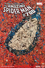 The Amazing Spider-Man #700 - COLLAGE COVER - DEATH OF PETER PARKER
