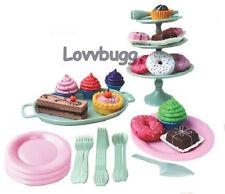 "Dessert Set 42 pcs Mini Doll Food for 18"" American Girl Widest Selection"