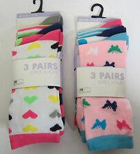 Calcetines de niña de 2 a 16 años azul