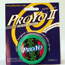 Vintage Proyo II YoYo - NEW Collectable Classic Yo-Yo - Made in USA-Green