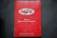 PETERBUILT Truck 310 Service Manual repair shop Peterbilt engine maintenance OEM