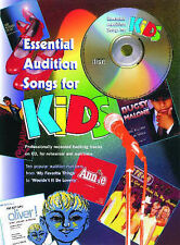 Essential audition songs for Kids, with backing tracks on CD by Faber Music. NEW