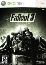 Fallout 3 (Xbox 360) Blood, Intense Violence, Sex, & Strong Language! **READ**
