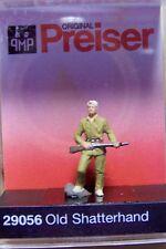 "HO Preiser ""Old West"" SHATTERHAND Trapper with Rifle FIGURE 29056"