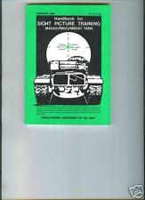 Sight Picture Training Handbook, M48A5/M60/M60A1 Tank