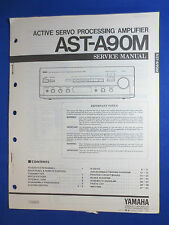 YAMAHA AST-A90M PROCESSING AMPLIFIER SERVICE MANUAL ORIGINAL FACTORY ISSUE