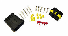 SUPERSEAL AMP TYCO WATERPROOF TERMINAL ELECTRICAL CONNECTOR 5 WAY 0.5-1.5 KIT