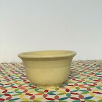 Fiestaware Yellow Bouillon Bowl Fiesta Retired Pale Yellow Small Prep Cup