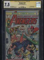 Avengers #138 CGC 7.5 SS Steve Englehart 1975 THOR Iron Man GIL KANE