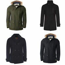 Hip Length Wool Regular Military Coats & Jackets for Men