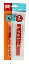 Paul Frank Julius The Monkey 5pc Set - 2 Pencils, Eraser, Sharpener & Ruler