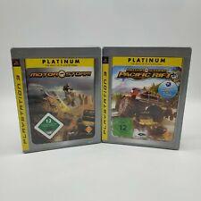 Motor Storm + Pacific Rift PlayStation 3 Spiele Sammlung Komplett in OVP Deutsch
