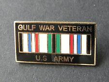 US Army Operation Desert Storm Gulf War Veteran Vet Lapel Pin Badge 1 inch