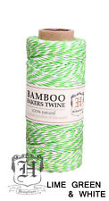 1MM Bamboo Bakers Twine Hemptique Cord Macrame Eco String - 147ft Spool