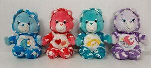 2015 Just Play Care Bears PJ Party Special Edition Bears Set of 4